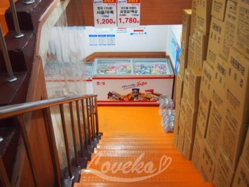 東大門スーパー-階段