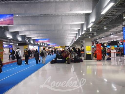 2016年12月格安ソウルの成田空港6