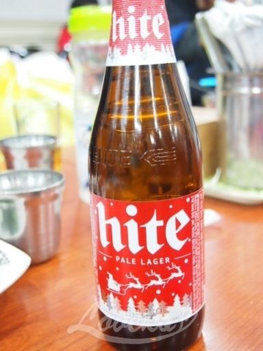 ユジョン食堂-ビール