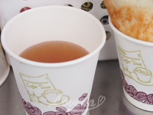 中部市場トースト-おでんスープ