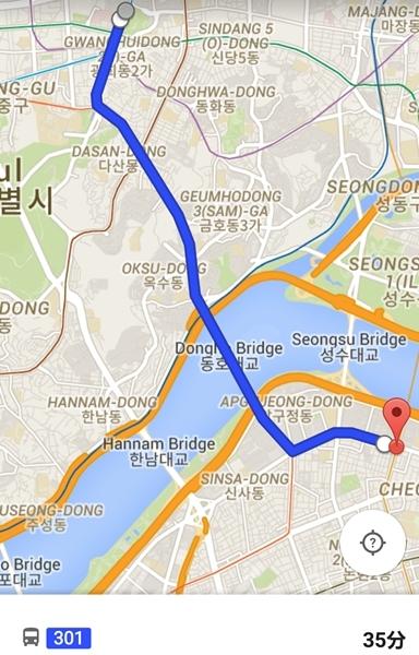 Googleマップ-ソウルバス12