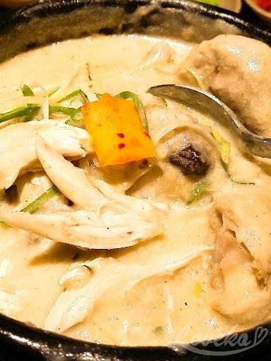 葡萄園参鶏湯-サムゲタン5