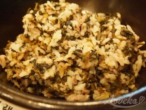 チョンジイ-シレギご飯1