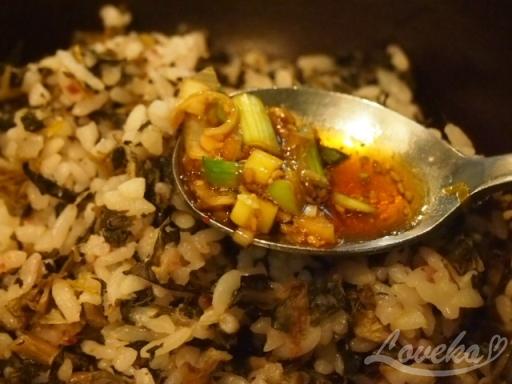 チョンジイ-シレギご飯2