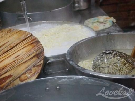 老牌牛肉麺大王(再訪)-生的麺3