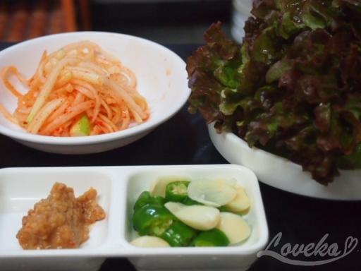 ソンジョン食堂-バンチャン1