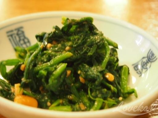 南山チゲ-青菜1