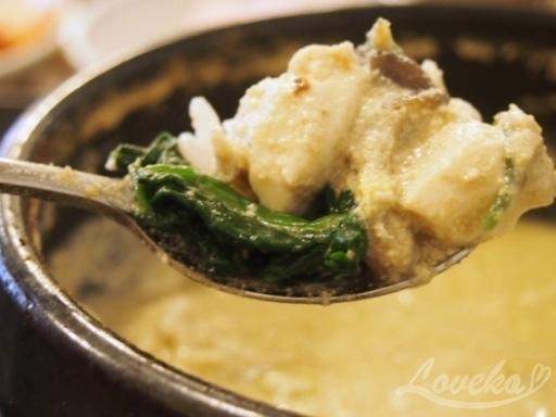 南山チゲ-青菜2
