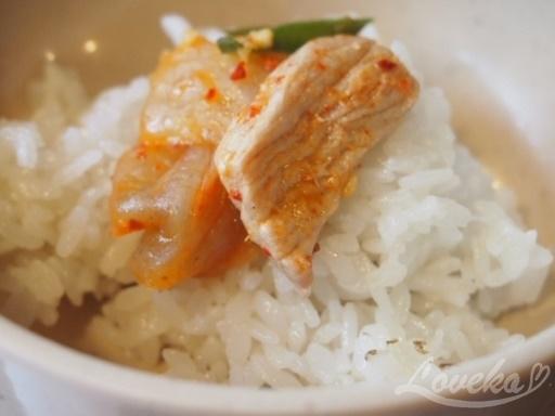 キムサンボ-キムチチゲご飯4