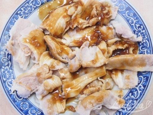 新長春川菜館-豚肉ニンニク炒め1