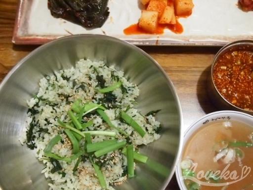 ヒョンデオク-コンドゥレご飯2