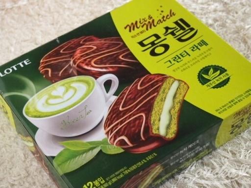 LOTTE抹茶ラテチョコパイ1