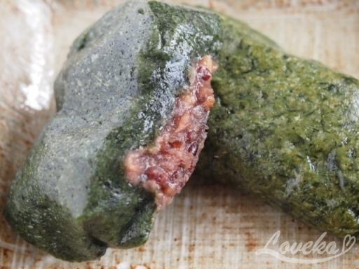 タンジ-ヨモギ餅1