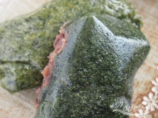 タンジ-ヨモギ餅2