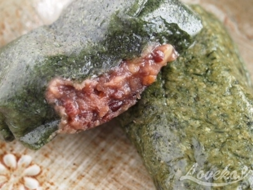 タンジ-ヨモギ餅3