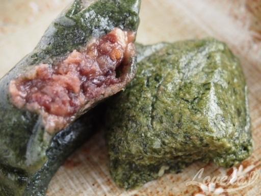 タンジ-ヨモギ餅4