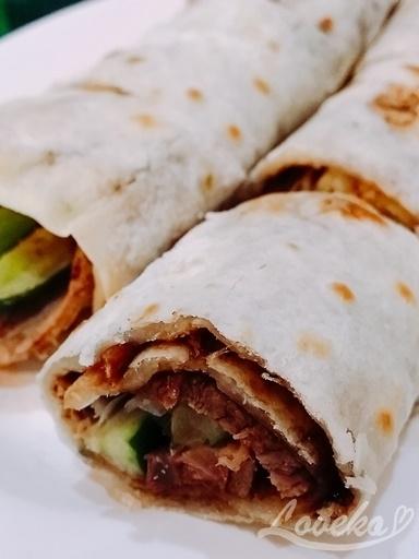 上台北小館-牛肉大餅1
