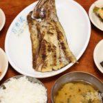 ソウル 東大門 朝食 焼き魚