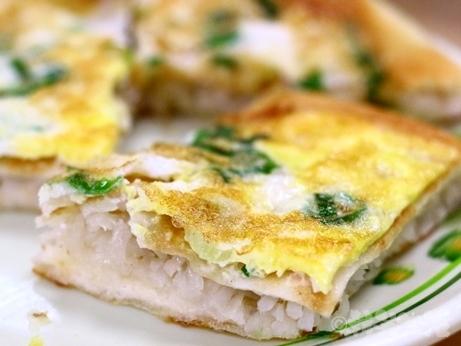 台湾グルメ 朝食 永和豆漿 民生店 蘿蔔絲餅