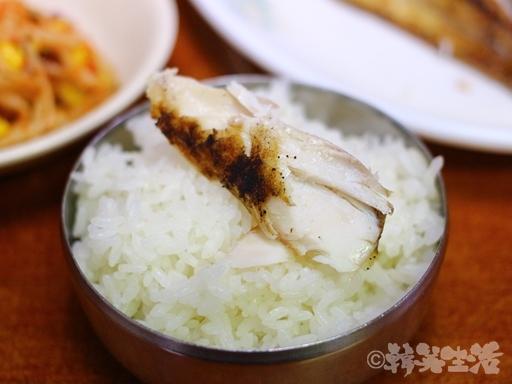 ソウル 朝食 焼き魚 東大門