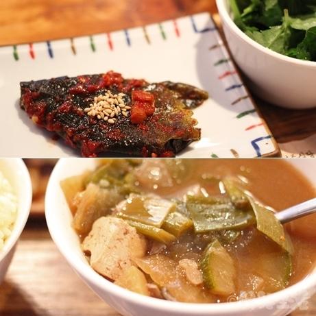 ソウル 上水 慶州食堂 ランチ 焼肉定食 モクサル おひとりさま