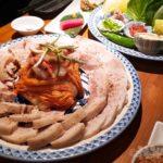 新宿 山形料理 韓国料理 濁酒本舗 tejimaul ポッサム