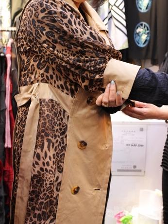 韓国 買い物 洋服 GOTOMALL GOTOモール 春物 コート ヒョウ柄 レオパード