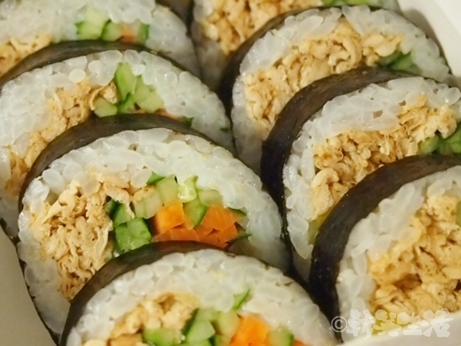 ソホキムパ 水曜美食会 キンパ 油揚げ