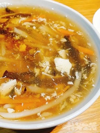 台北 六張犁 上海邵師傅湯包 酸辣湯