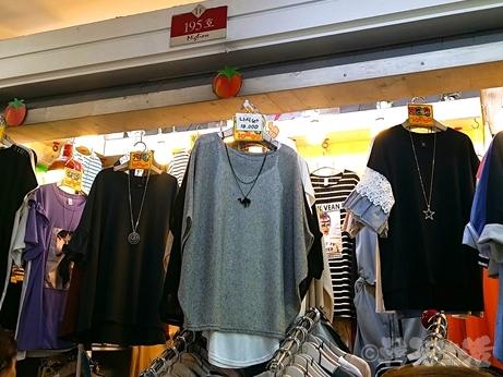 東大門 ミリオレ 洋服 買い物