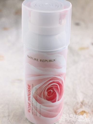 ネイチャリーパブリック 洗顔フォーム バラ ムース