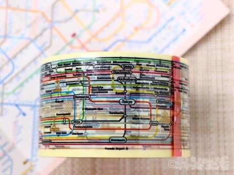 韓国 路線図 地図 テープ デザイン ショップ ゼロパーゼロ