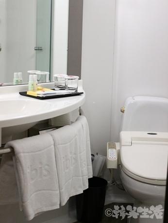 ホテル 明洞 イビス 風呂