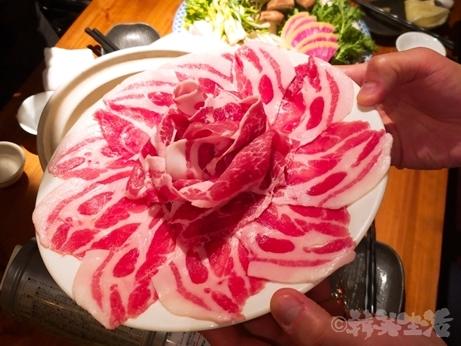 新宿 山形料理 韓国料理 濁酒本舗 tejimaul 三元豚 しゃぶしゃぶ