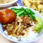 台湾グルメ 金峰魯肉飯 魯肉飯 朝食