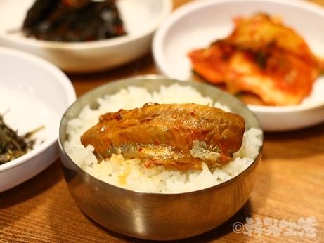 食堂 韓国館 チゲ さんま