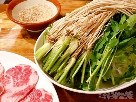 裏渋谷 おんどる イベリコ豚 せり鍋 コース料理