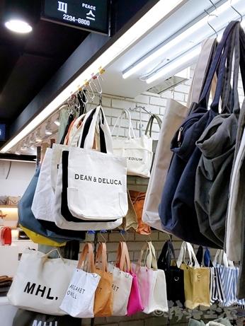 ソウル 買い物 東大門 バッグ 南平和市場 DEAN & DELUCA
