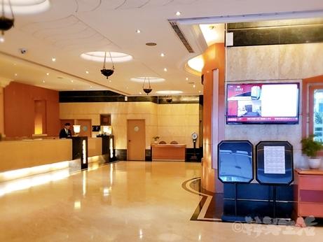 台湾旅行 ホテル 三徳大飯店 サントスホテル 民権西路 桃園空港