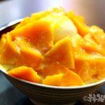 台北 双連 古早味豆花 マンゴーかき氷