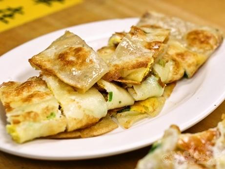 台湾グルメ 朝食 永和豆漿 民生店 松山機場 蛋餅