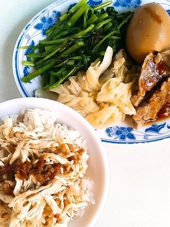 孤独のグルメ 迪化街 永楽坦仔麺 鶏肉飯セット