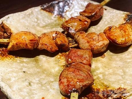 六本木 焼鳥 燃es 媛っこ地鶏 熟成鶏 七谷鴨