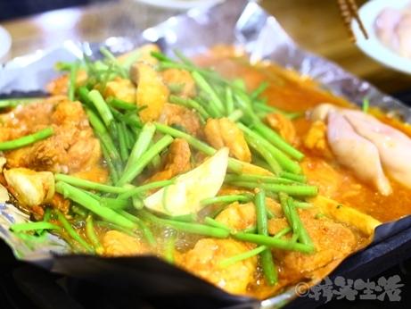 韓国グルメ 乙支路3街 忠武路 釜山ポッチプ フグ料理 ふぐプルコギ