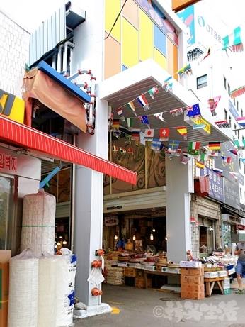 韓国 市場 中部市場 乙支路4街
