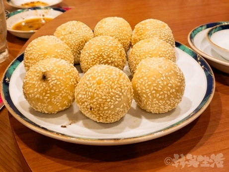 蒲田 中華料理 春光園 餃子 ゴマ団子