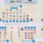 台北車站 バス停 バス Easy Card 台北駅