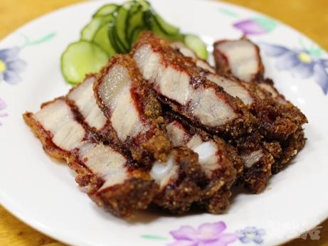 三娘香菇肉粥 台北 朝食 中正紀念堂 お粥 唐揚げ