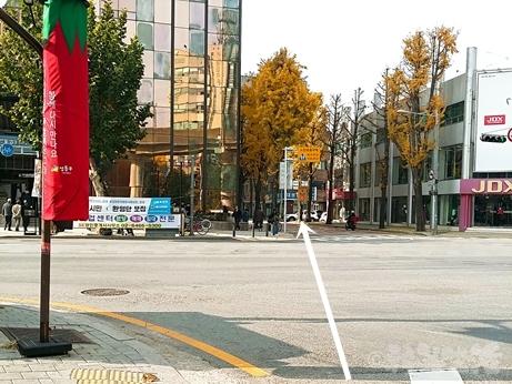 韓国 ソウルの森 トゥッソム ランチ 定食 モクサル定食 芸能人 行き方