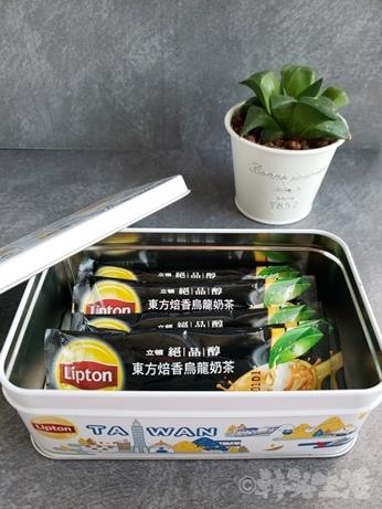 台湾土産 リプトン 立頓 ウーロンミルクティー 缶入り